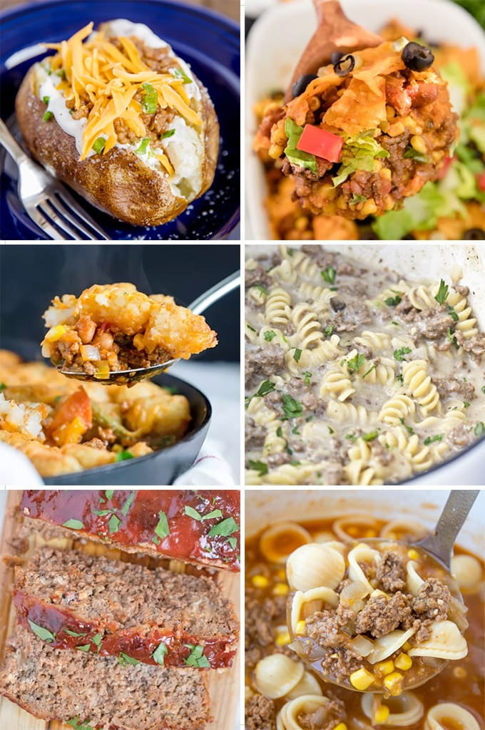 Stuff To Make With Ground Beef  27 Simple Ground Beef Recipes
