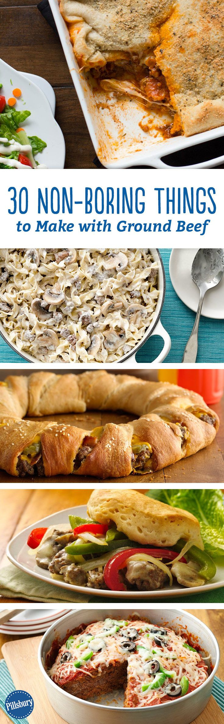 Stuff To Make With Ground Beef  30 Non Boring Things to Make with Ground Beef