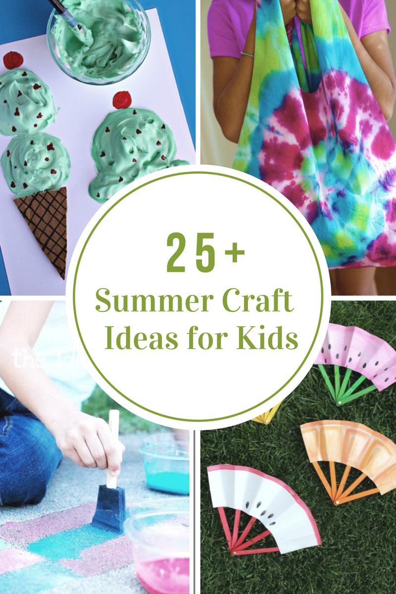 Summer Crafts For Children  40 Creative Summer Crafts for Kids That Are Really Fun