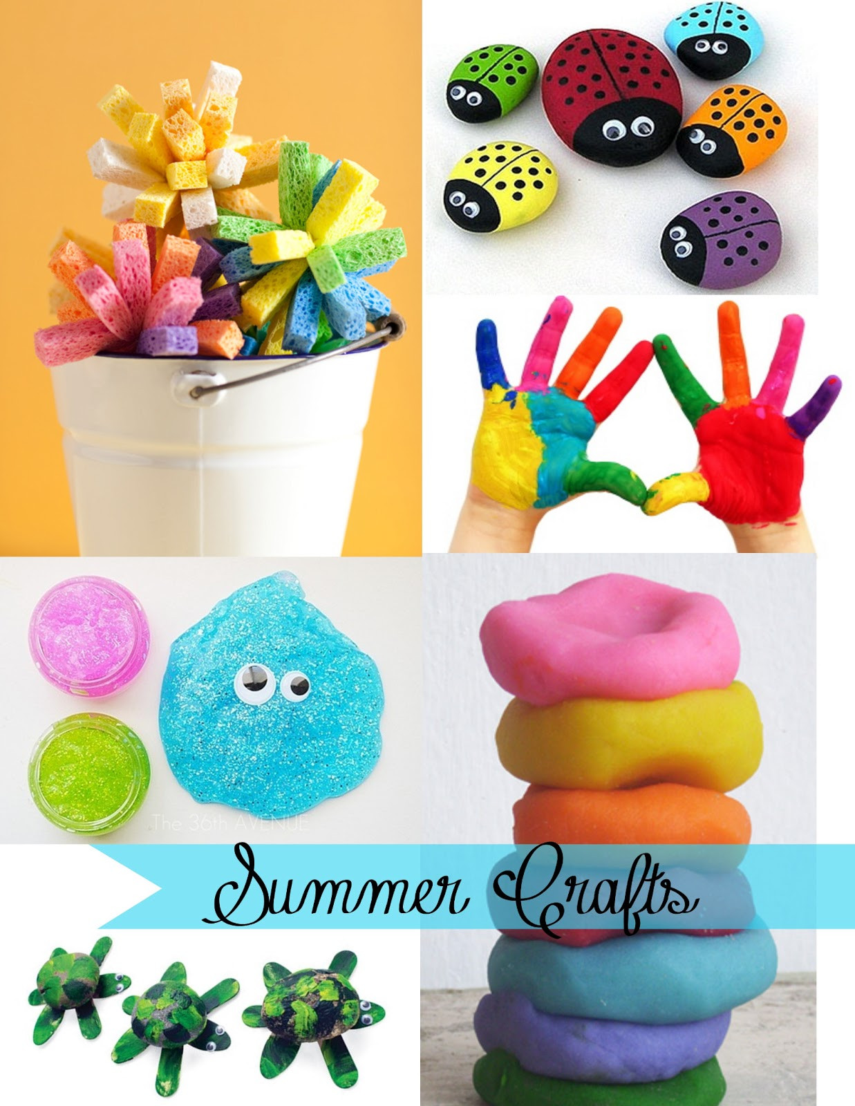 Summer Crafts For Children  Being creative to keep my sanity Summer Crafts for Kids