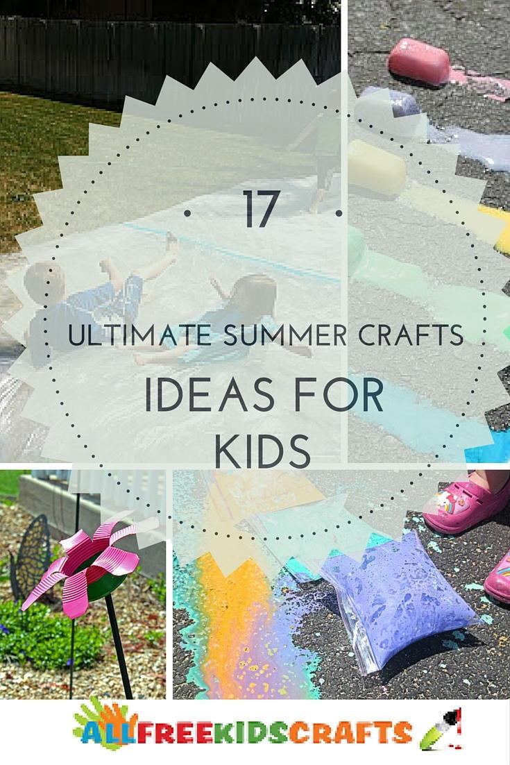 Summer Crafts For Children  17 Ultimate Summer Craft Ideas for Kids