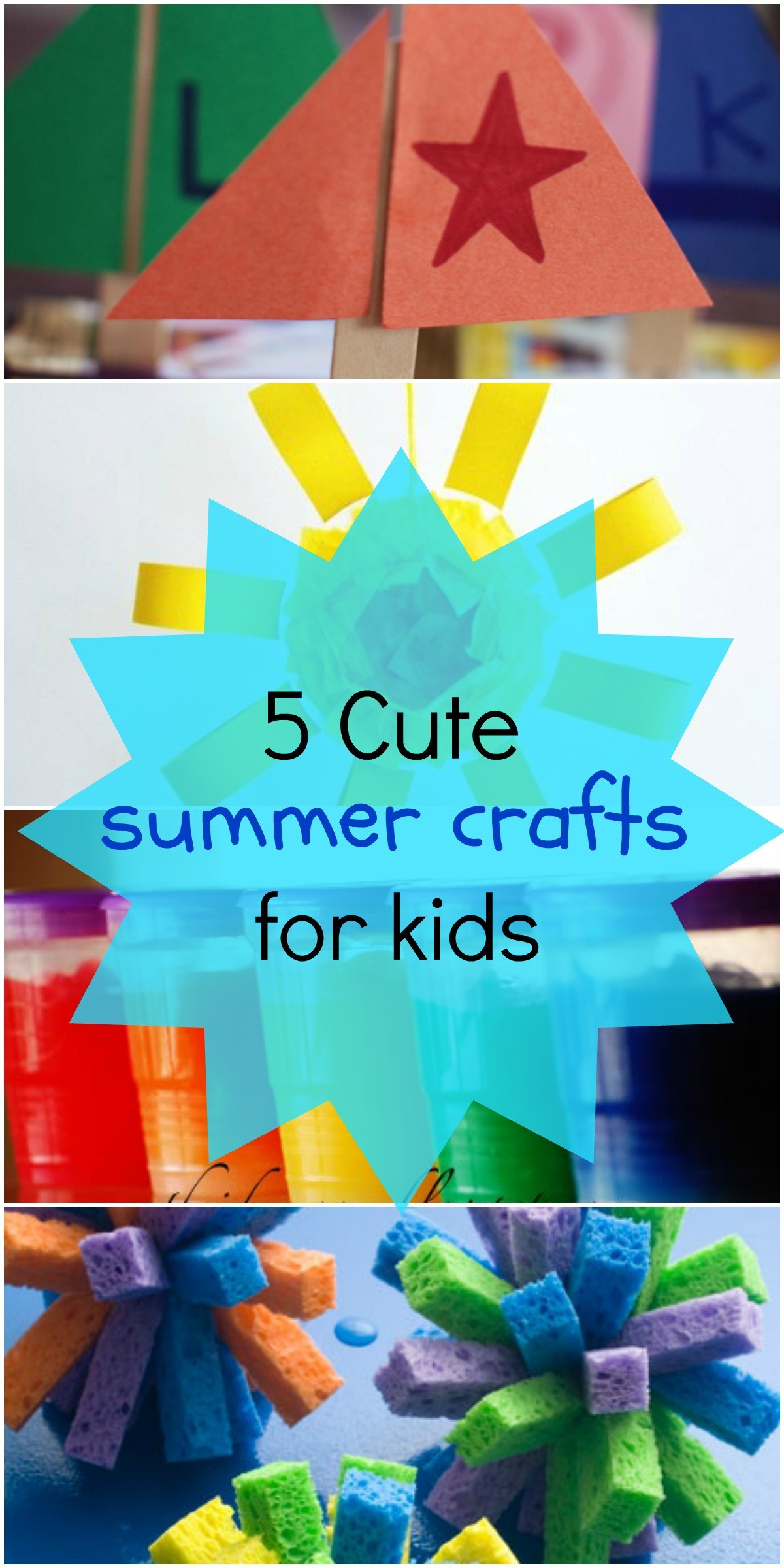 Summer Crafts For Children  5 Fun Summer Crafts for Kids Love These Art Project Ideas