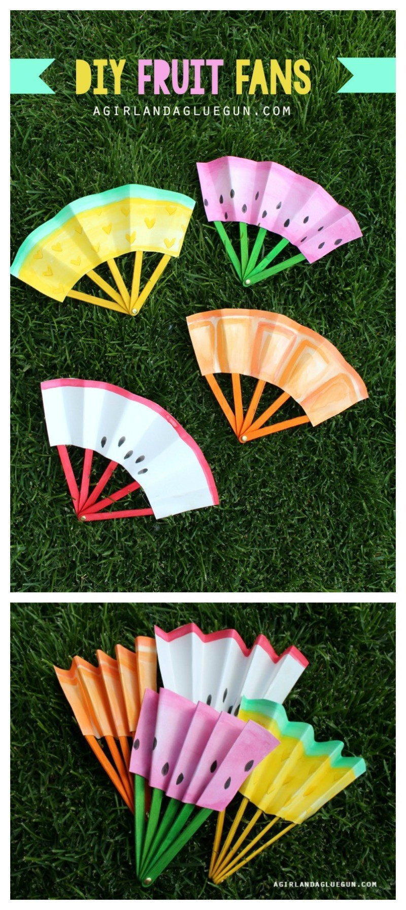 Summer Crafts For Children  12 Favorite Easy Summer Crafts for Kids on Love the Day