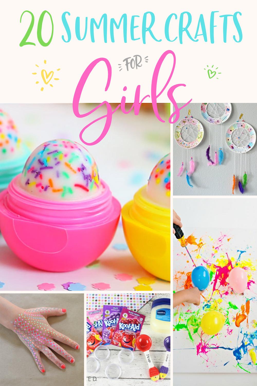 Summer Crafts For Children  20 Easy DIY Crafts for Girls Modern Glam