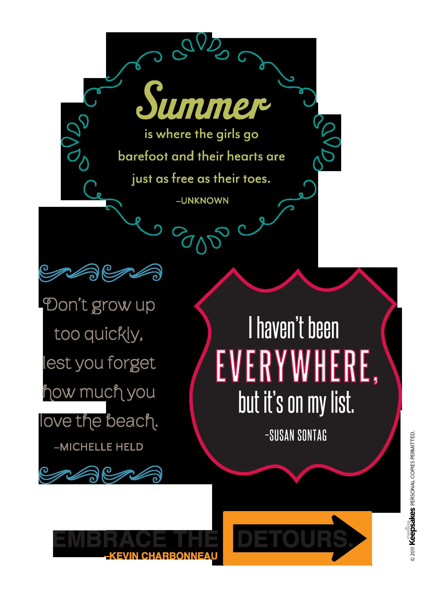 Summer Fun Quotes  Fun Summer Memories Quotes QuotesGram