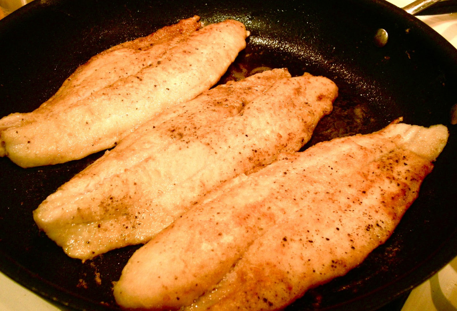 Swai Fish Recipes  Foodism Mom Pan fried Swai With Lemon Butter Sauce