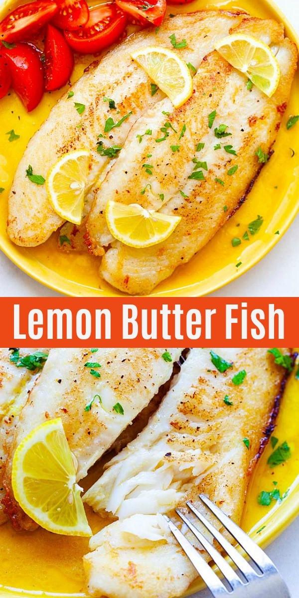 Swai Fish Recipes  Lemon Butter Swai Fish Pan Fried Fish Recipe Rasa