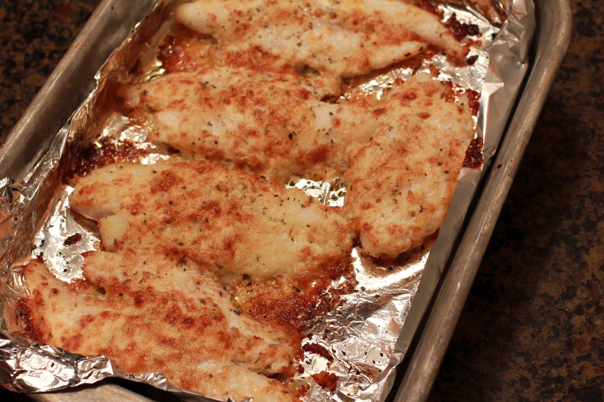 Swai Fish Recipes  Parmesan Crusted Swai Quick Easy and Frugal