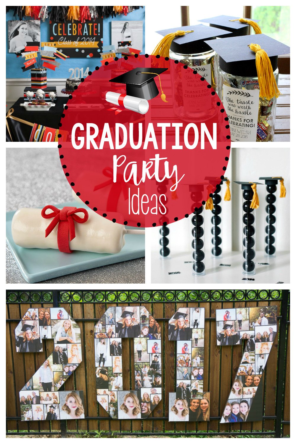 Table Decorations For Graduation Party Ideas  25 Fun Graduation Party Ideas – Fun Squared