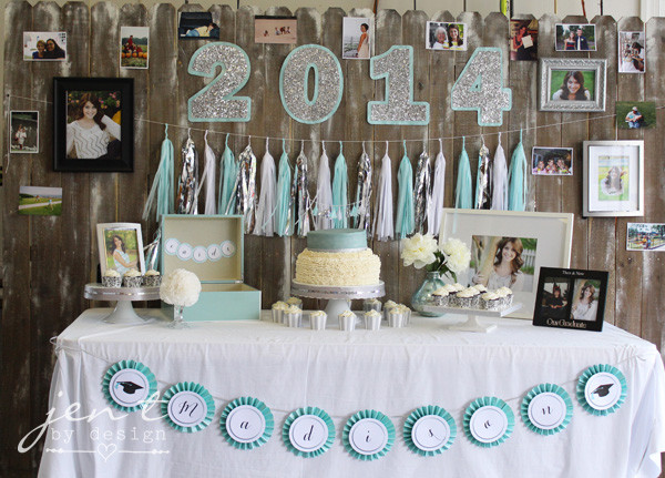 Table Decorations For Graduation Party Ideas  Stylish Ideas for a Graduation Party — Jen T by Design