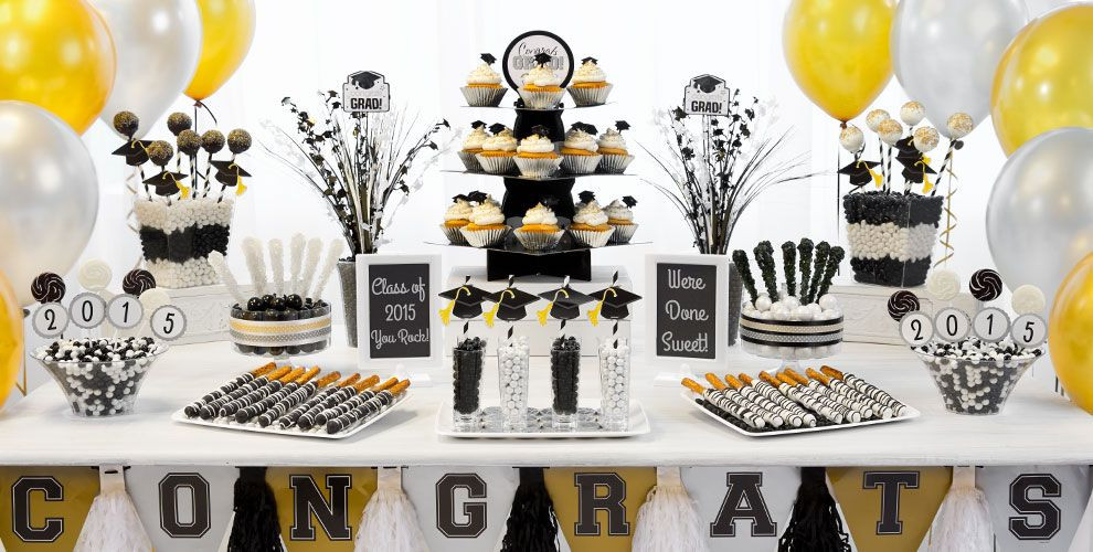 Table Decorations For Graduation Party Ideas  Graduation Decoration Themes and Ideas