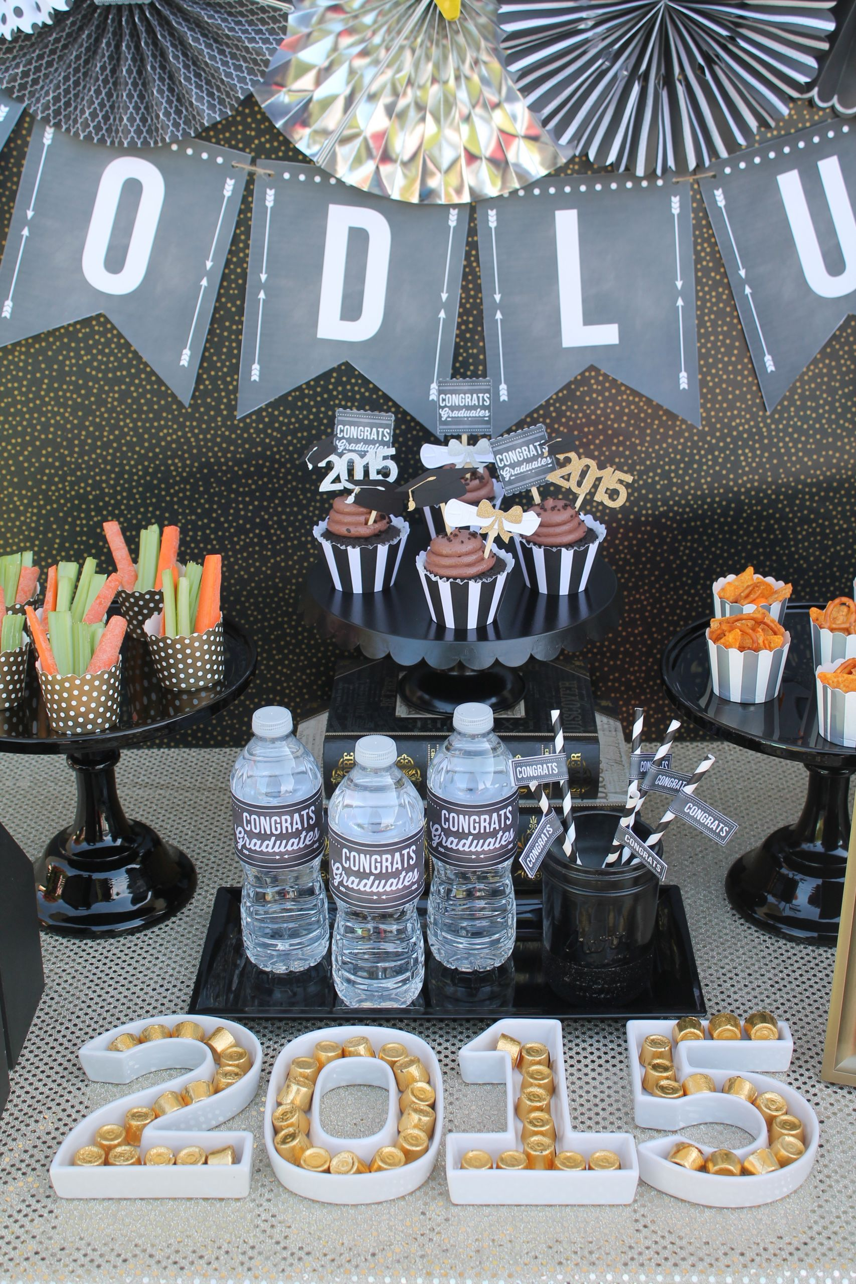 Table Decorations For Graduation Party Ideas  Graduation Party Ideas Free Printables