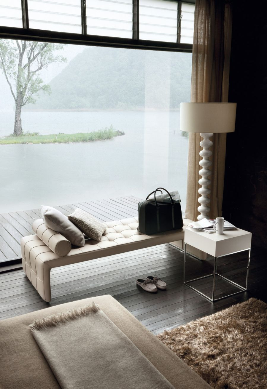 Table In Living Room  Sophisticated And Modern Nightstands With A Scandinavian Feel