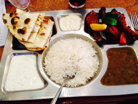 Tandoori Chicken Side Dishes  Lamb Curry Picture of India Palace Orlando TripAdvisor