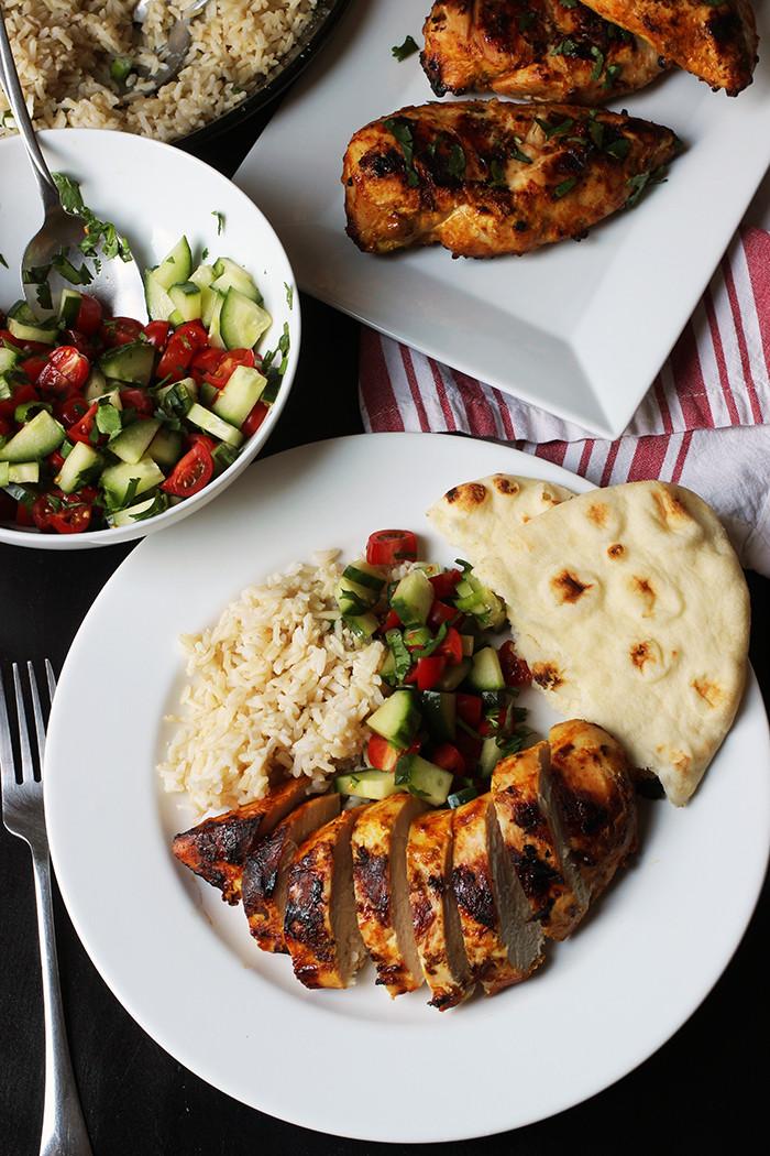 Tandoori Chicken Side Dishes  Tandoori Chicken Marinade Recipe Good Cheap Eats