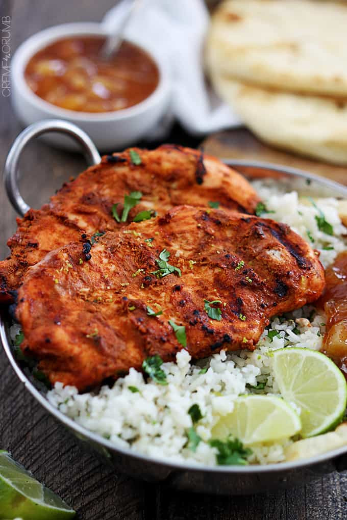 Tandoori Chicken Side Dishes  Grilled Tandoori Chicken
