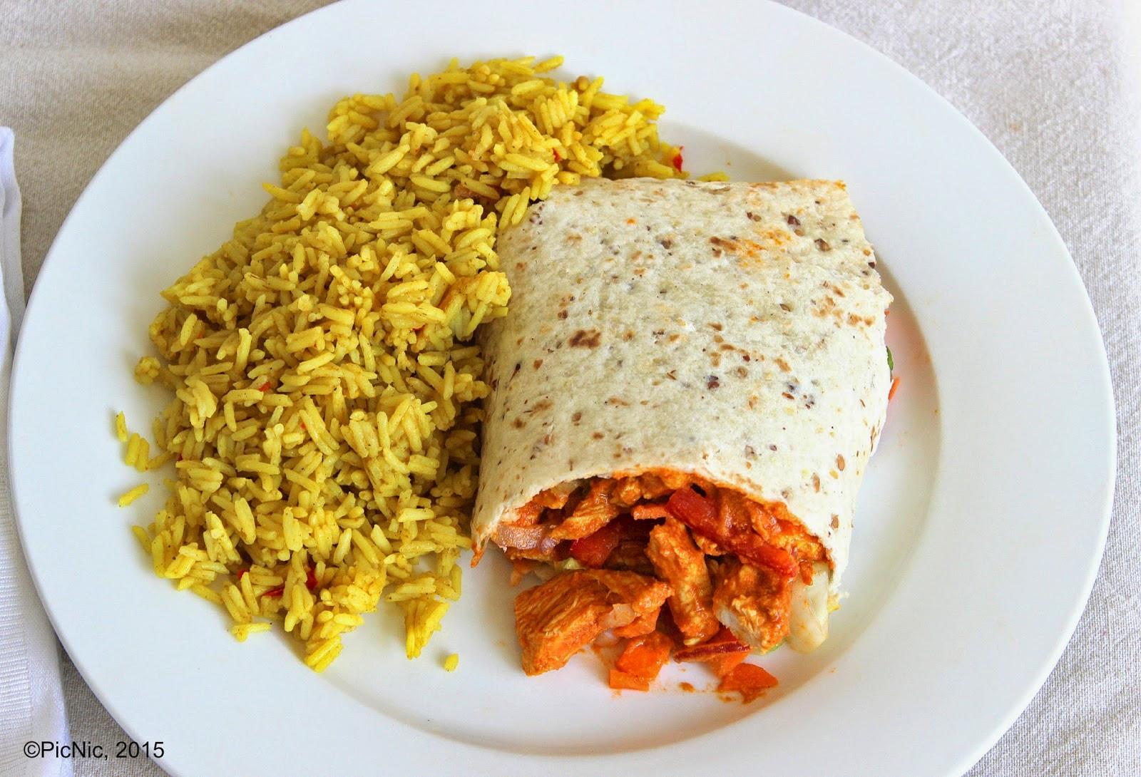 Tandoori Chicken Side Dishes  PicNic Tandoori Chicken Wraps