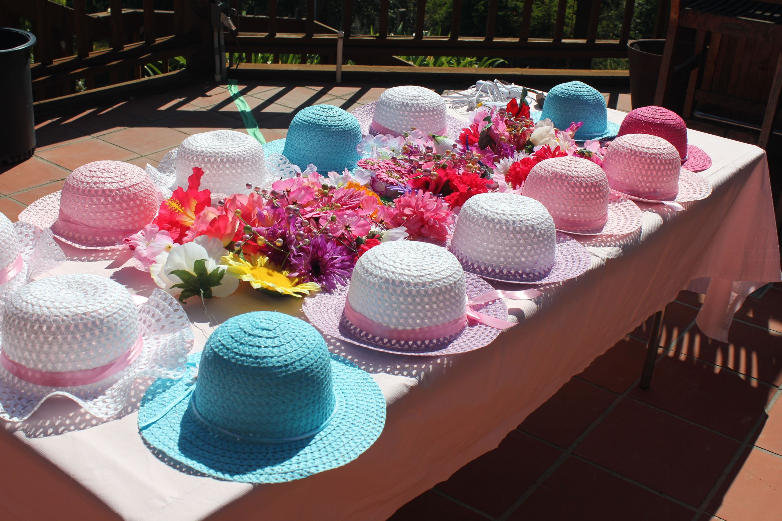 Tea Hat Party Ideas  Fancy girl Tea Party a 5 year old birthday event