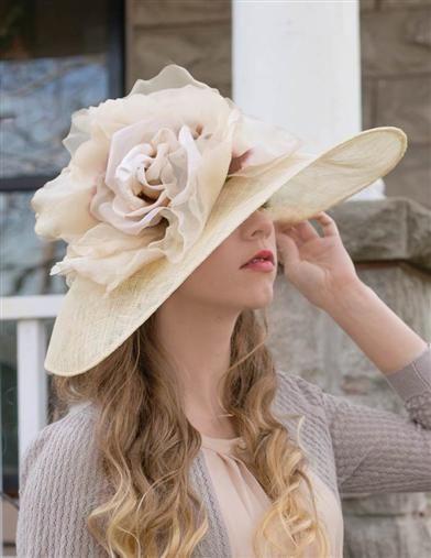 Tea Hat Party Ideas  La s Tea Party Hats Make or Buy Victorian Hats