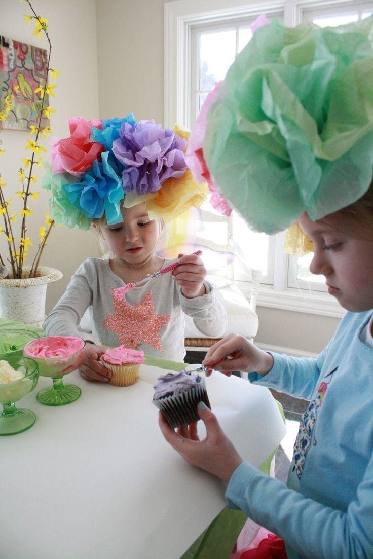 Tea Hat Party Ideas  tea parties for girls Little girl tea party