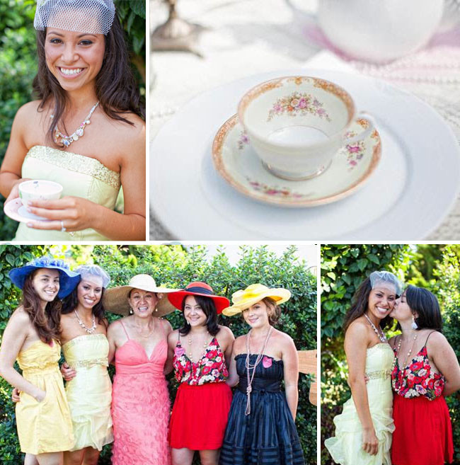 Tea Hat Party Ideas  A Mad Hatter Tea Party Bridal Shower