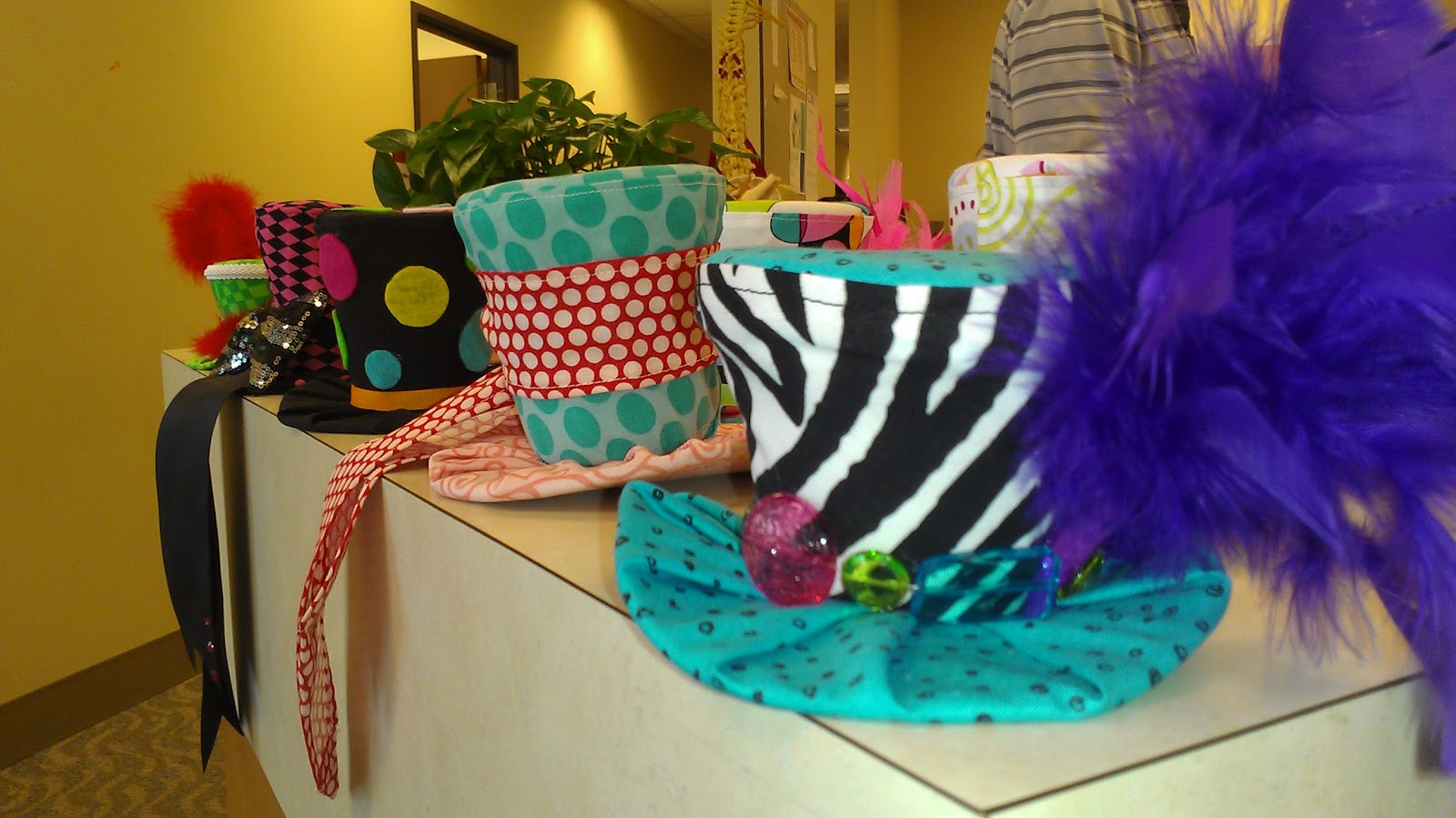 Tea Hat Party Ideas  The Other Side of Wonderland Mad Hatter Tea Party Mini Hats