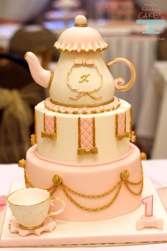 Tea Party Birthday Cake Ideas  Kids Birthday Cakes