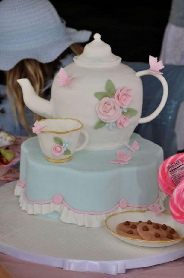 Tea Party Birthday Cake Ideas  25 Best Girl Birthday Cakes • The Celebration Shoppe