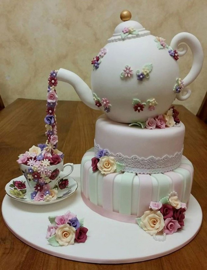 Tea Party Birthday Cake Ideas  Over 30 Awesome Cake Ideas Kitchen Fun With My 3 Sons