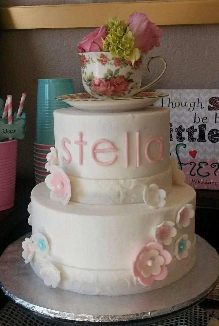 Tea Party Birthday Cake Ideas  Tea Party Cake Ideas 7164