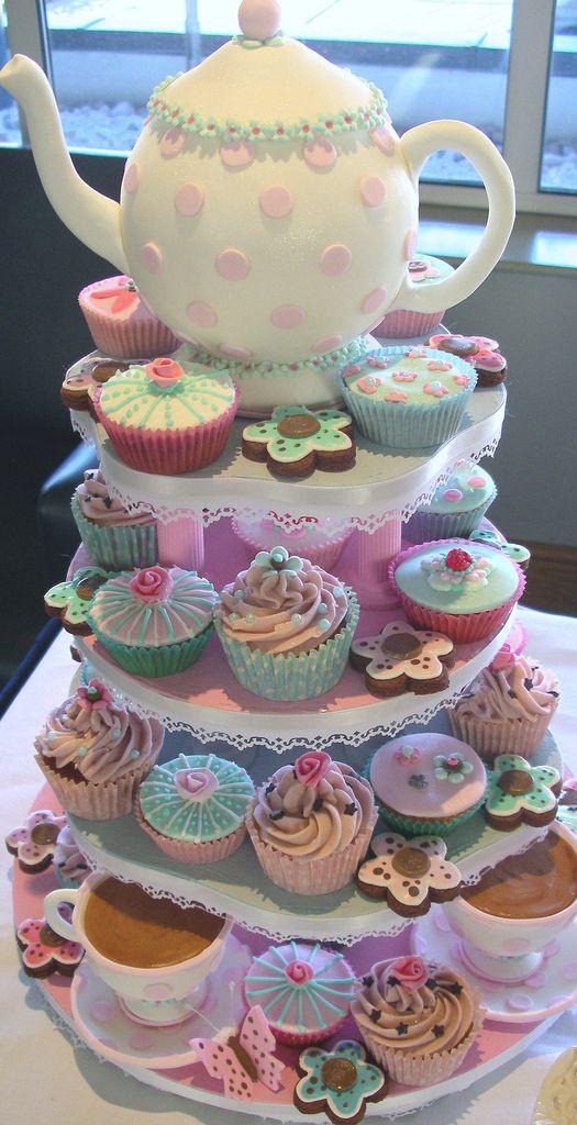 Tea Party Birthday Cake Ideas  Tea Party ideas You Sweet Thang Pinterest