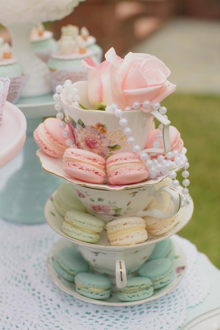 Tea Party Themes Ideas  Kara s Party Ideas Pink Vintage Tea Party