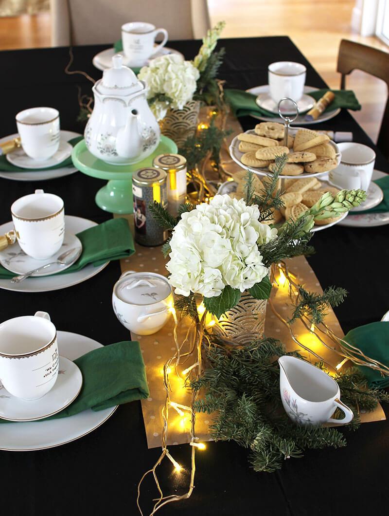 Tea Party Themes Ideas  How to Host a Downton Abbey Winter Tea Party Persia Lou