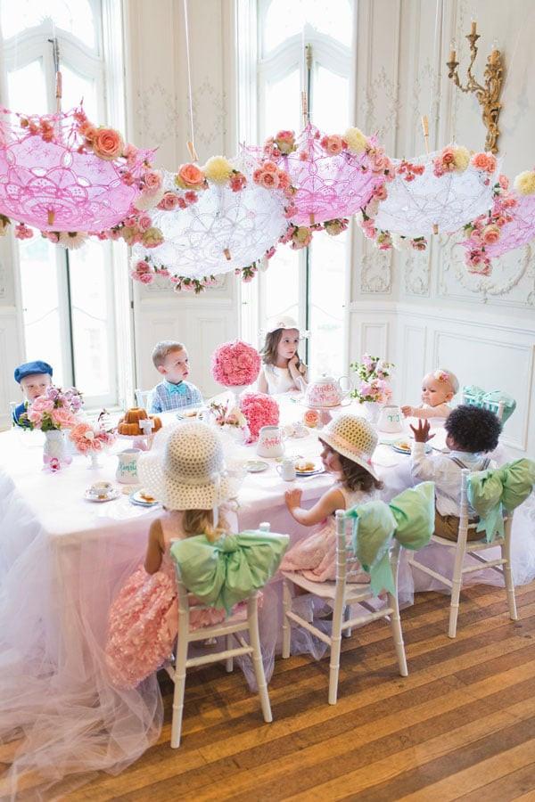 Tea Party Themes Ideas  Sweet Tea Birthday Party Pretty My Party Party Ideas