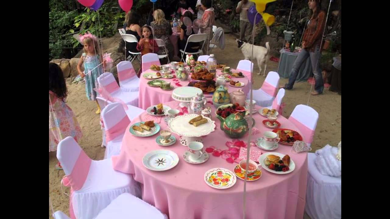 Tea Party Themes Ideas  Easy DIY Tea party ideas for kids