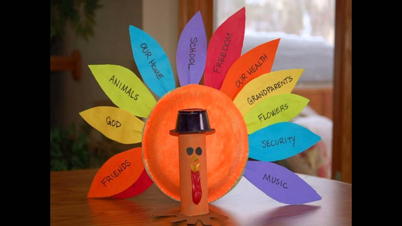 Thanksgiving Art And Craft Ideas For Toddlers  Easy DIY Turkey crafts ideas for kids