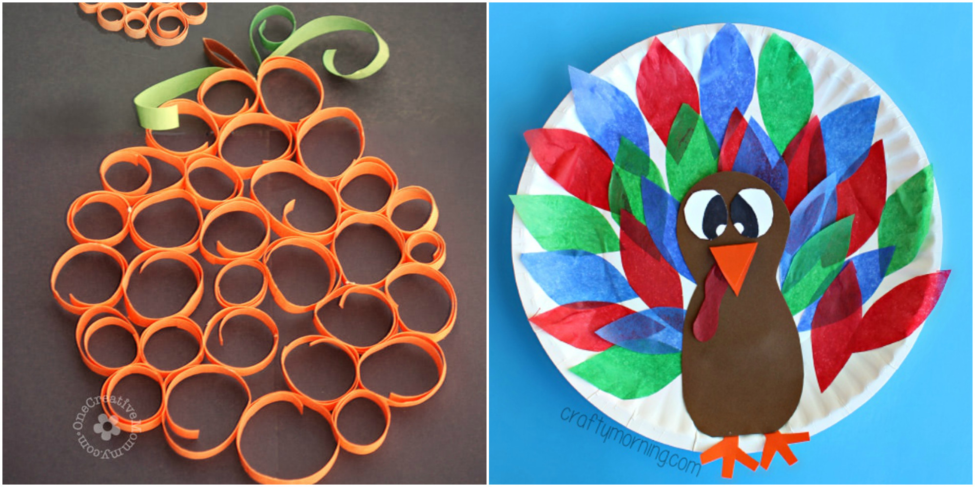 Thanksgiving Art And Craft Ideas For Toddlers  33 Easy Thanksgiving Crafts for Kids Thanksgiving DIY