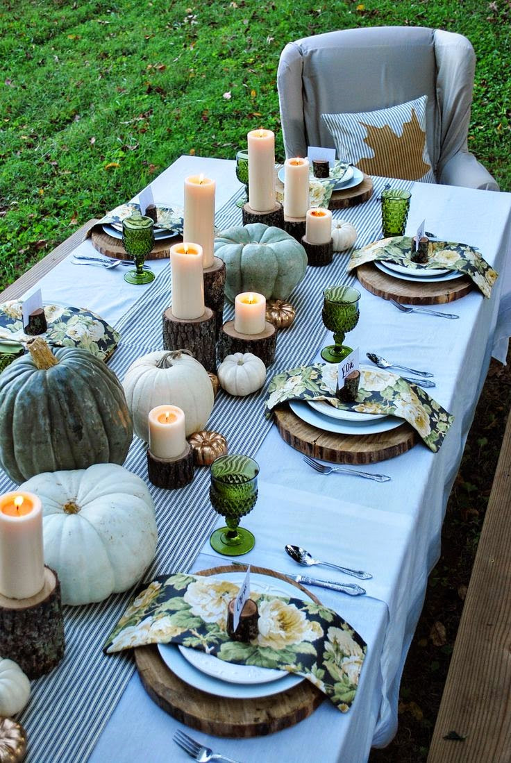 Thanksgiving Dinner Table Decorations  The Classy Woman 15 Elegant Thanksgiving Table Decor Ideas