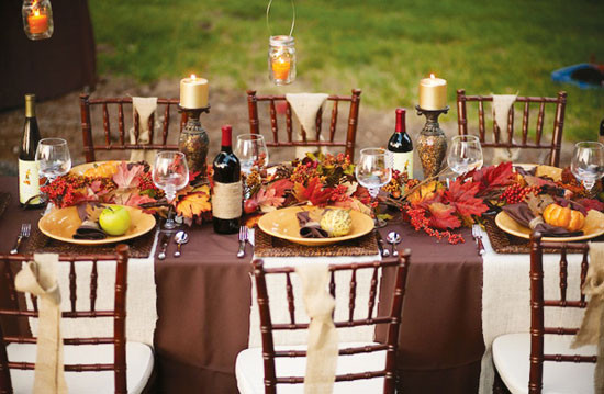 Thanksgiving Dinner Table Decorations  Tabletop Tuesday Outdoor Thanksgiving Table Ideas