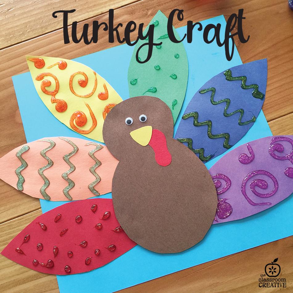 Thanksgiving Turkey Craft  20 Easy Thanksgiving Crafts for Kids