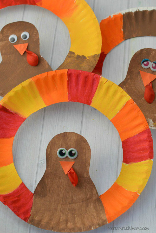 Thanksgiving Turkey Craft  Turkey Crafts The Ultimate Thanksgiving Collection for Kids