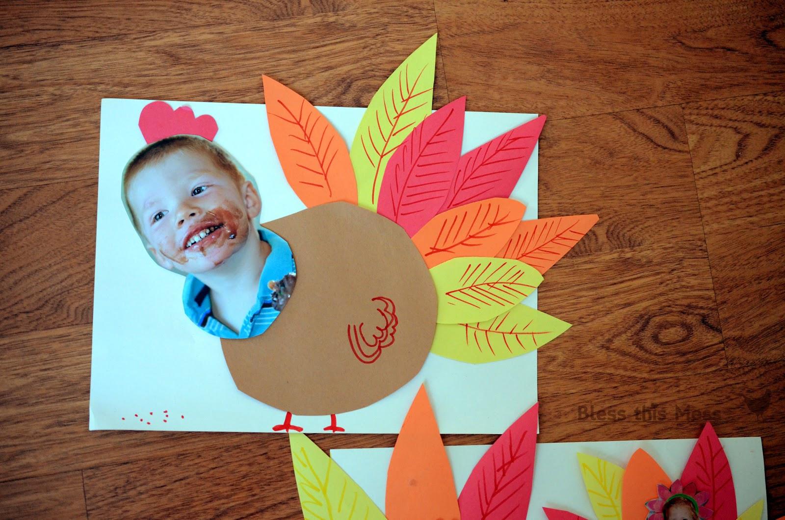 Thanksgiving Turkey Craft  5 Easy Turkey Crafts for Kids
