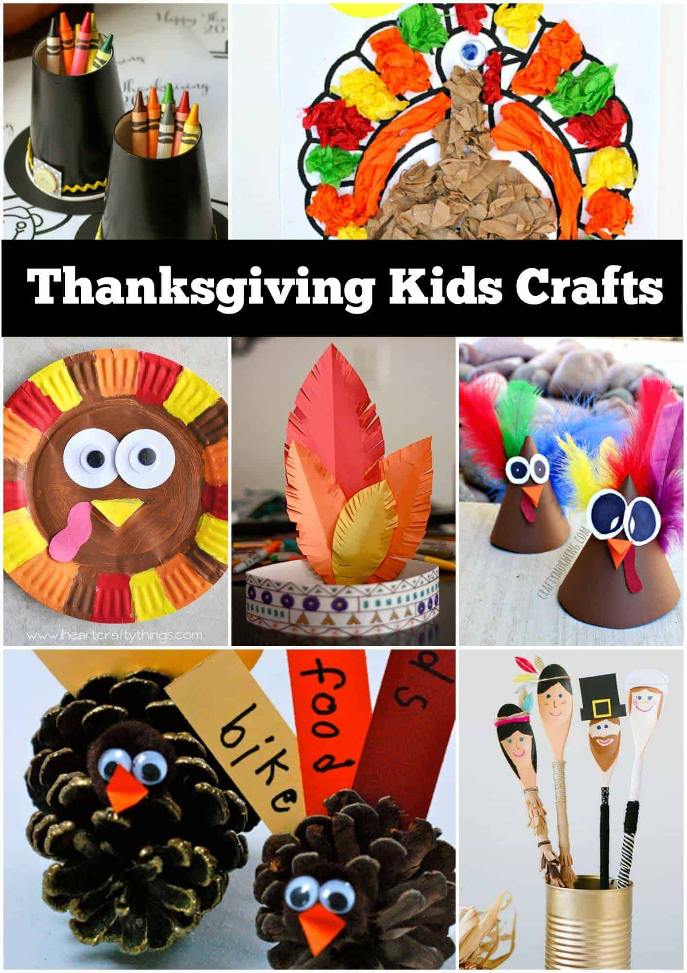 Thanksgiving Turkey Craft  12 Thanksgiving Craft Ideas for kids Page 2 of 2