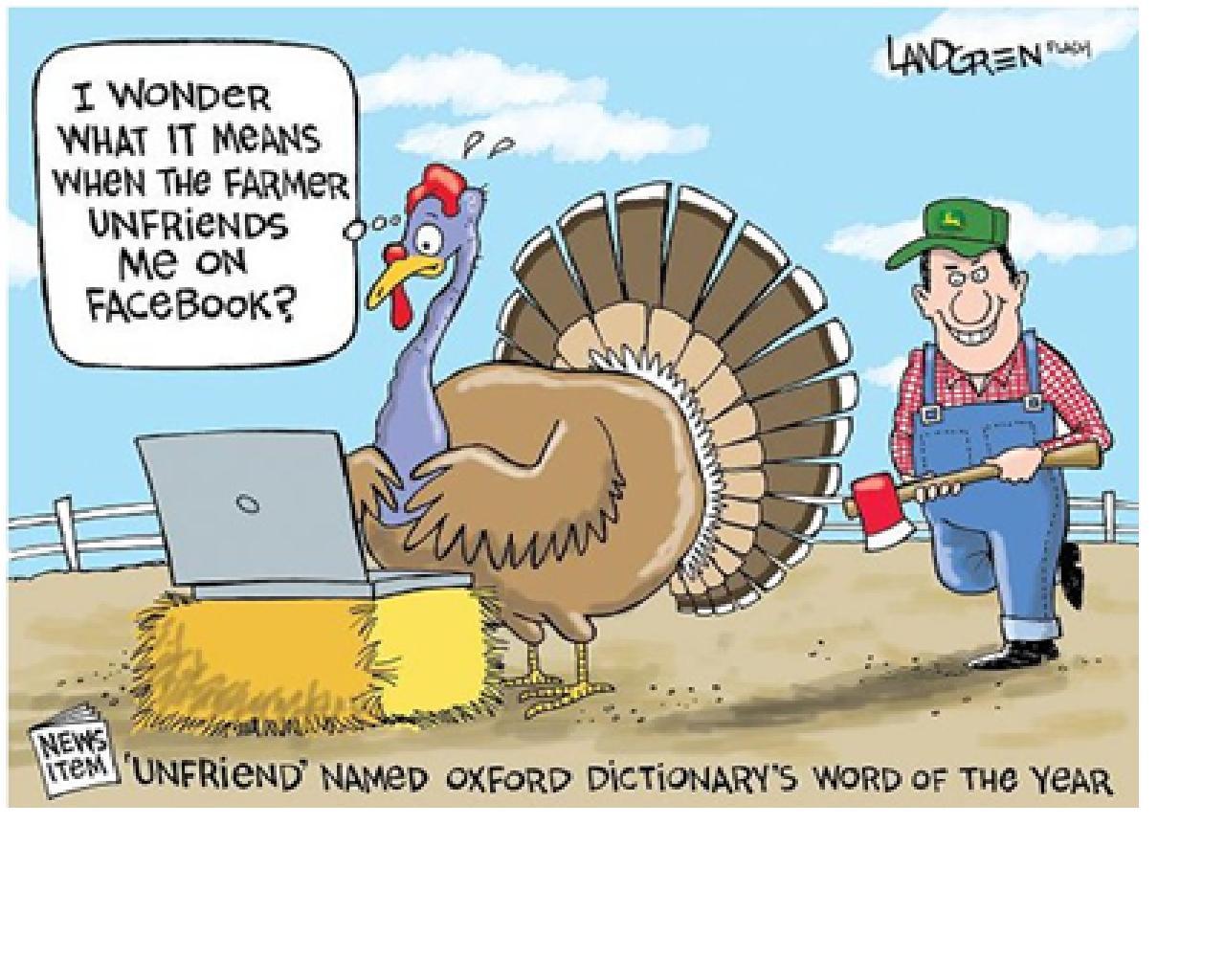 Thanksgiving Turkey Funny  Denae D Arcy November 2012