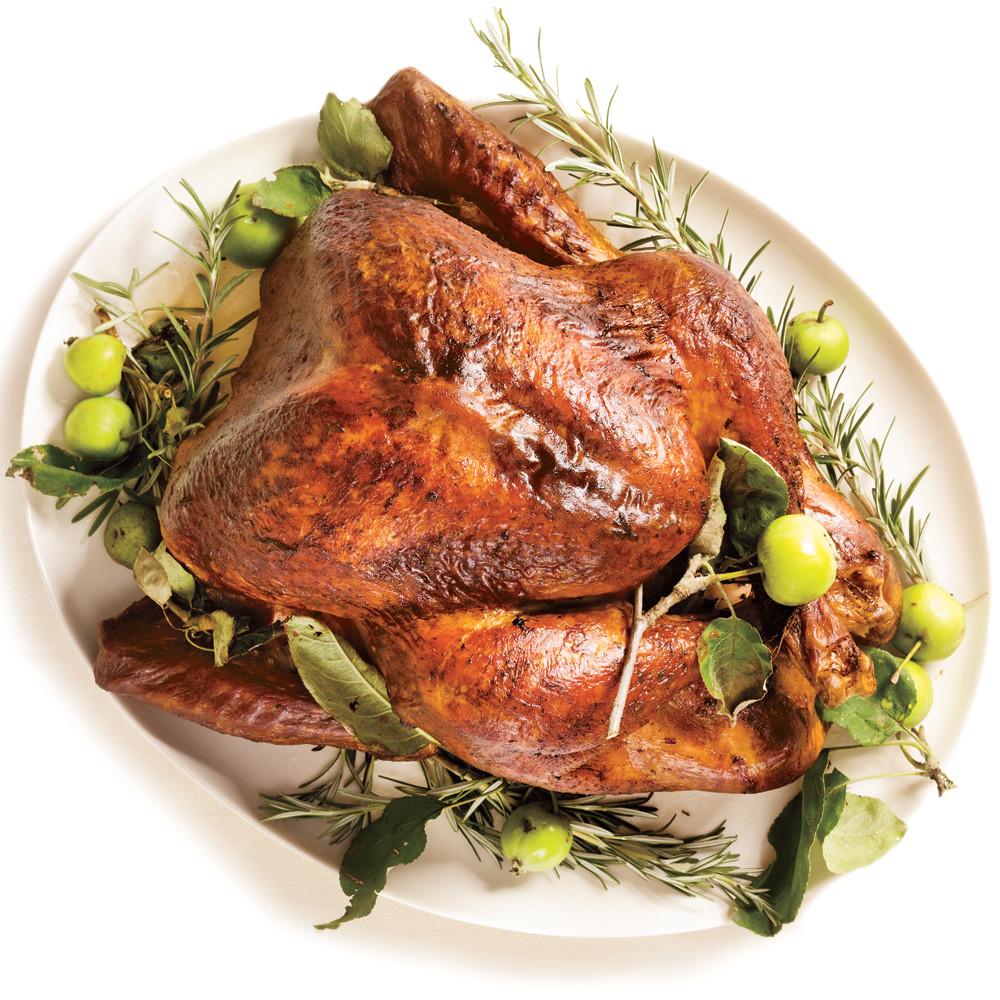 Thanksgiving Turkey Rub  Roasted Turkey & Rosemary Garlic Butter Rub & Pan Gravy