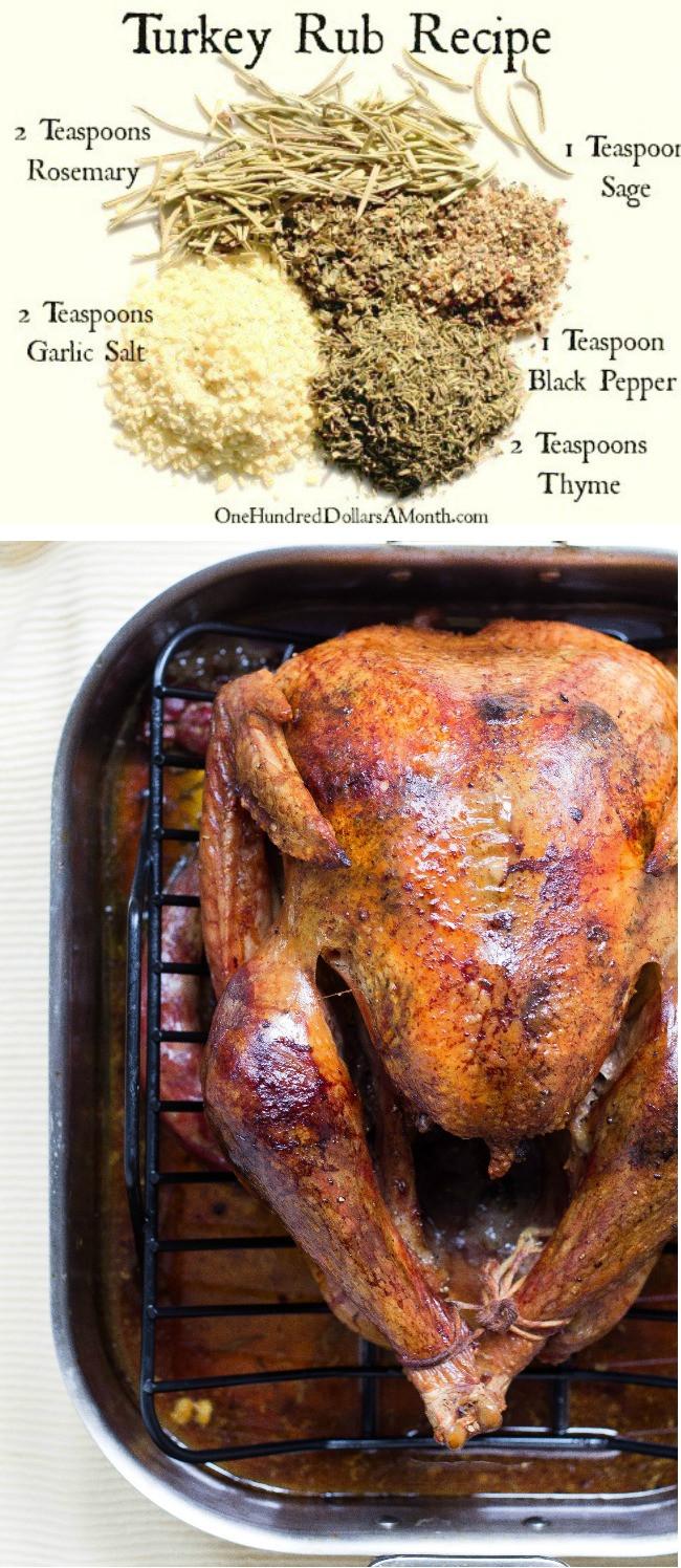 Thanksgiving Turkey Rub  Easy Kitchen Tips Turkey Rub Recipe e Hundred