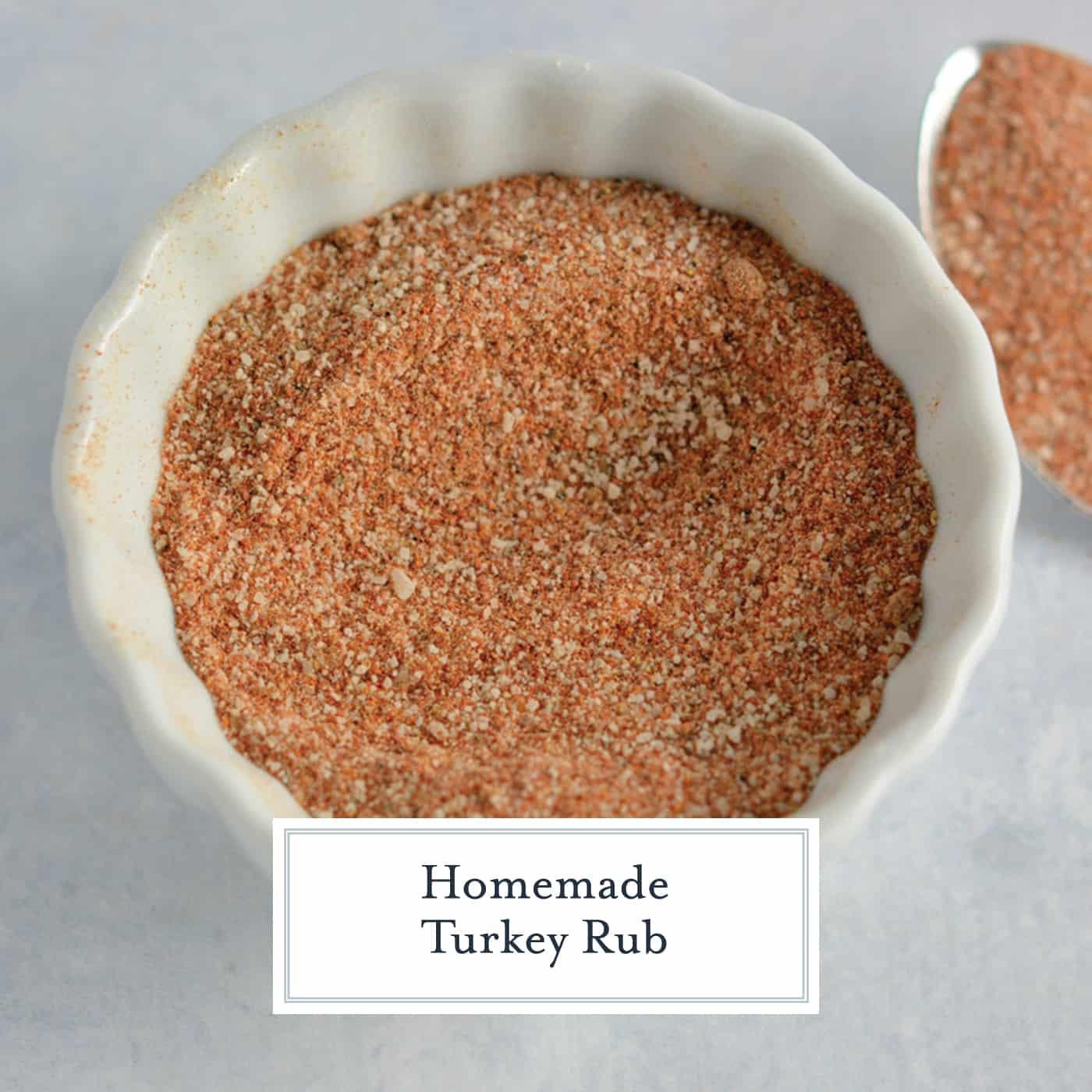 Thanksgiving Turkey Rub  Homemade Turkey Rub VIDEO VIDEO
