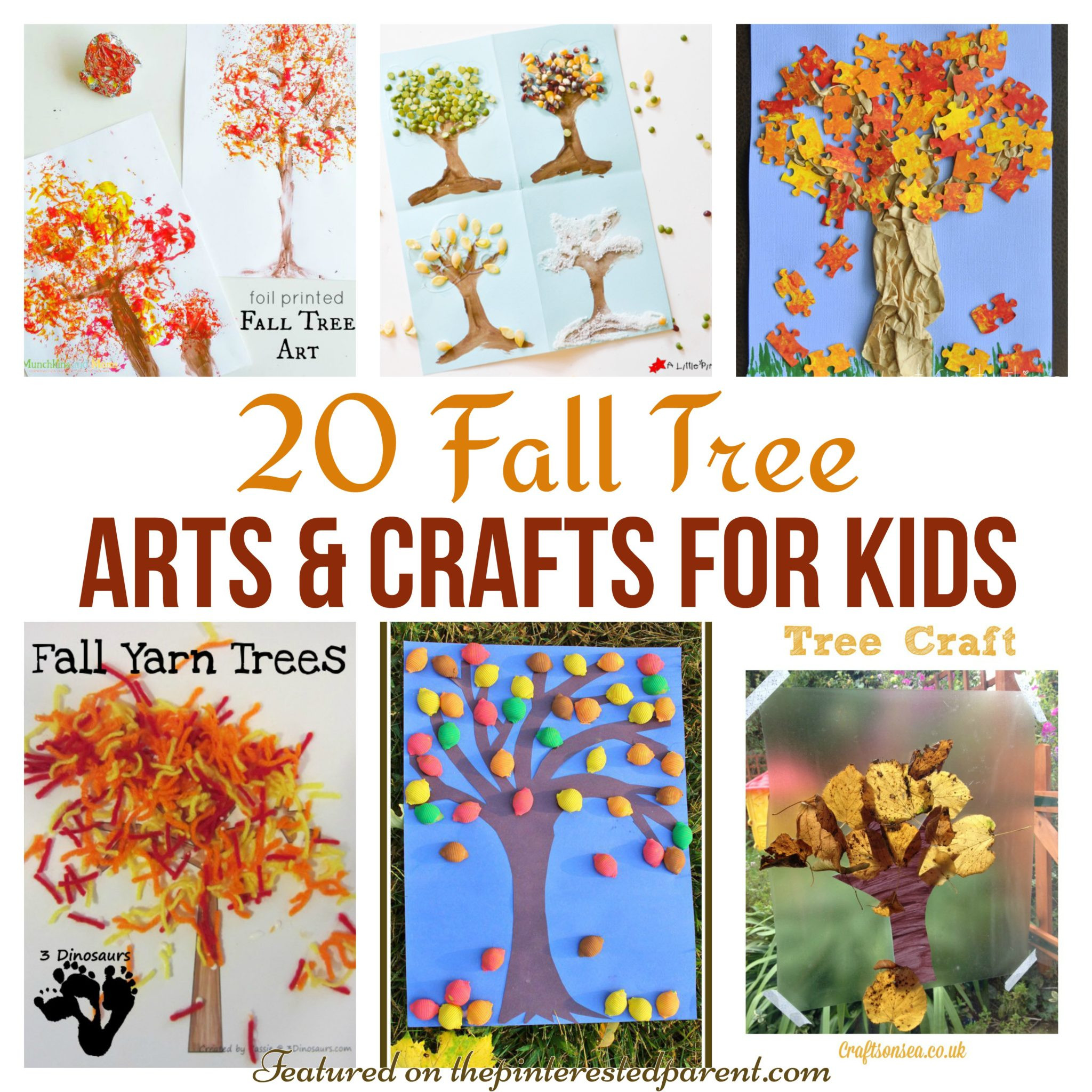 Toddler Arts And Craft Ideas  20 Fall Tree Arts & Crafts Ideas For Kids – The