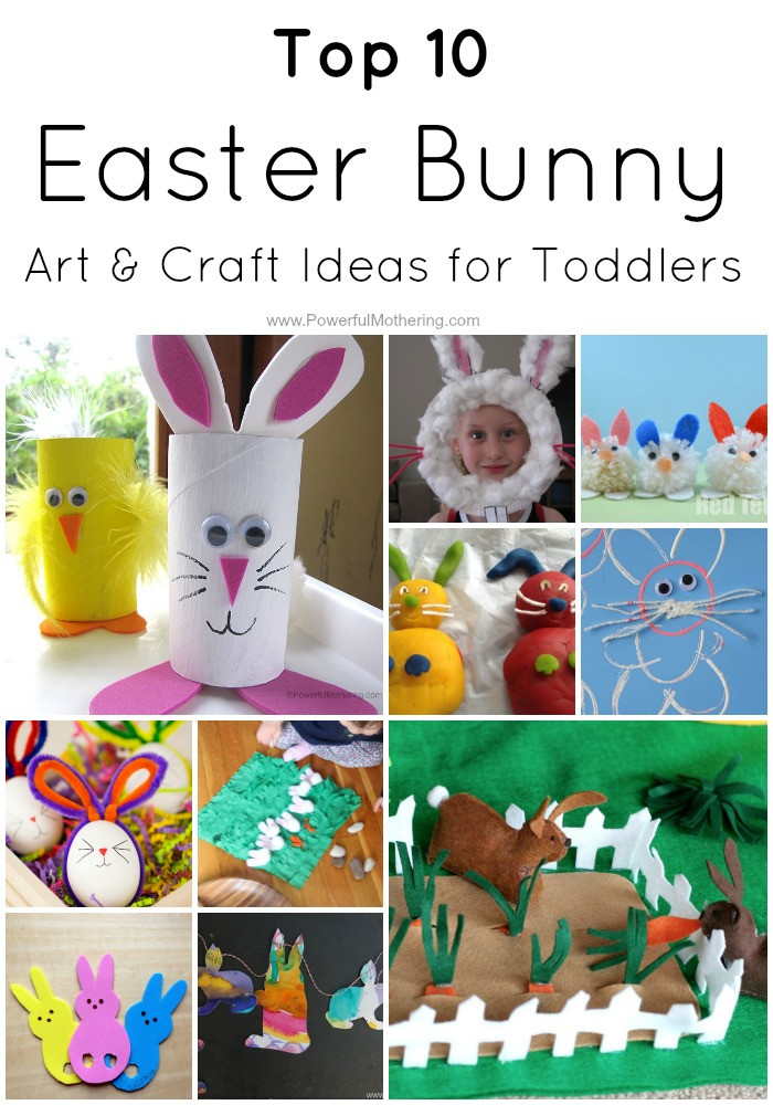 Toddler Arts And Craft Ideas  Top 10 Easter Bunny Art & Craft Ideas for Toddlers