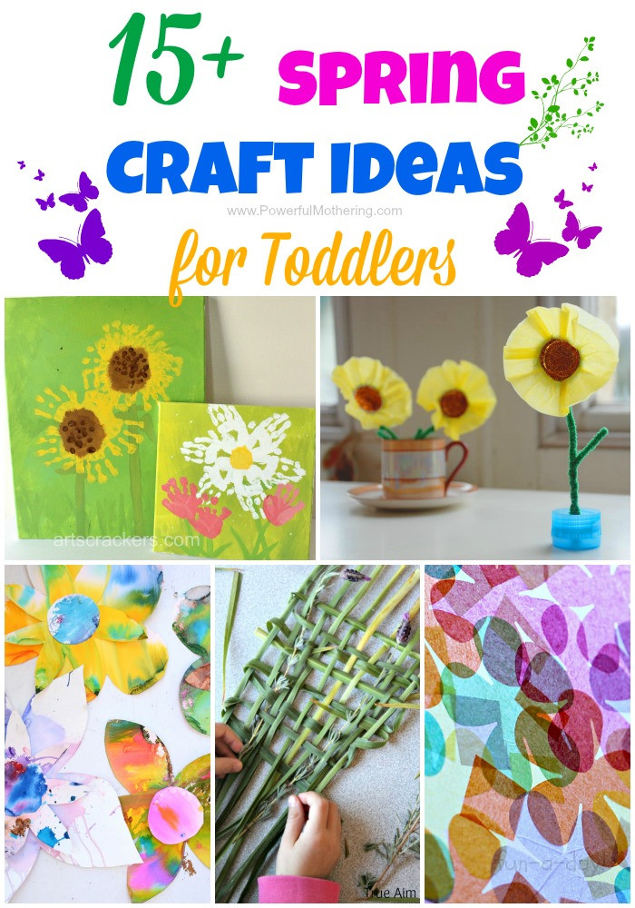 Toddler Arts And Craft Ideas  15 Spring Craft Ideas for Toddlers